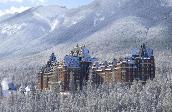 Magie hivernale de Banff
