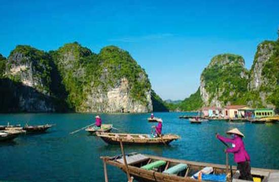 Vietnam, Thailand, Singapore, with Bangkok stay