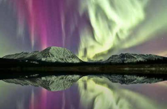Le Yukon et les Aurores Boréales